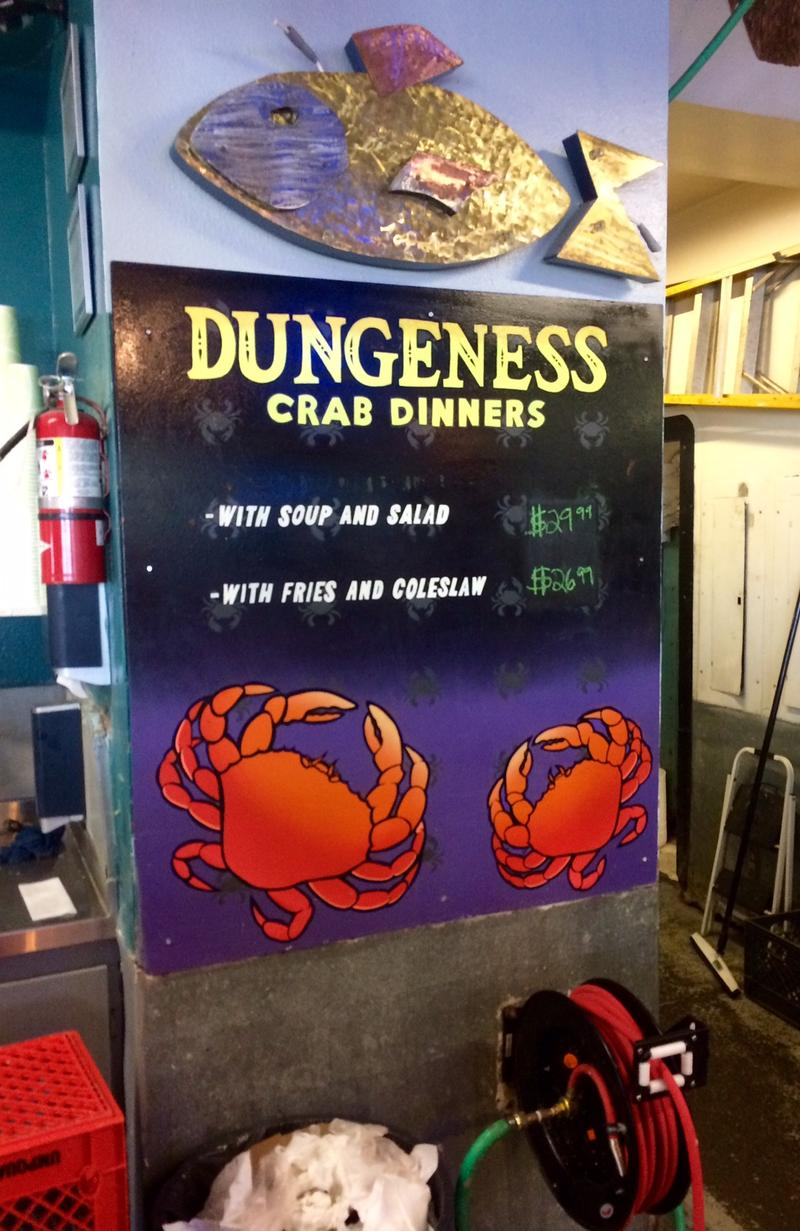 Dungeness is a popular item on the menu at Fisherman's Market, Eugene.