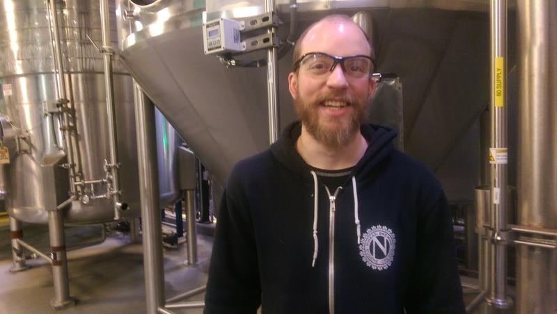 Rich Massella is a brewer at Ninkasi in Eugene.
