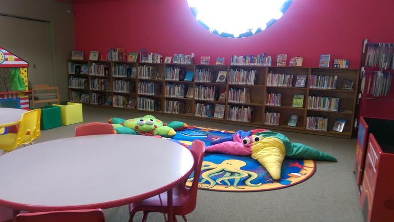The children's section of the Reedsport Library