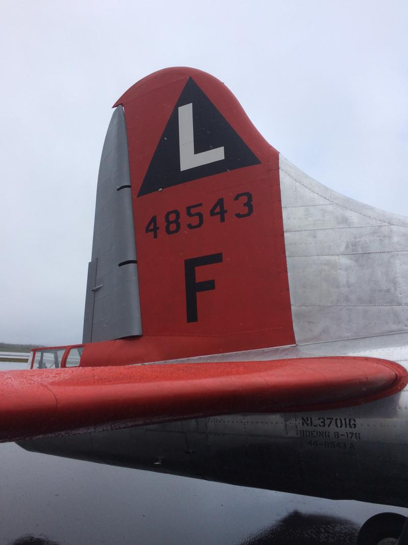 Tail markings for the 381st Bomb Group