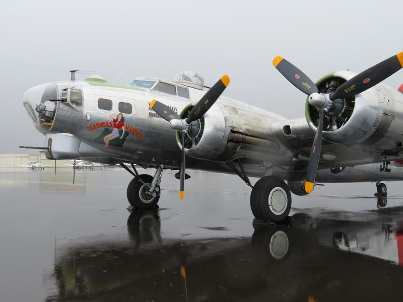 Madras Maiden B-17G