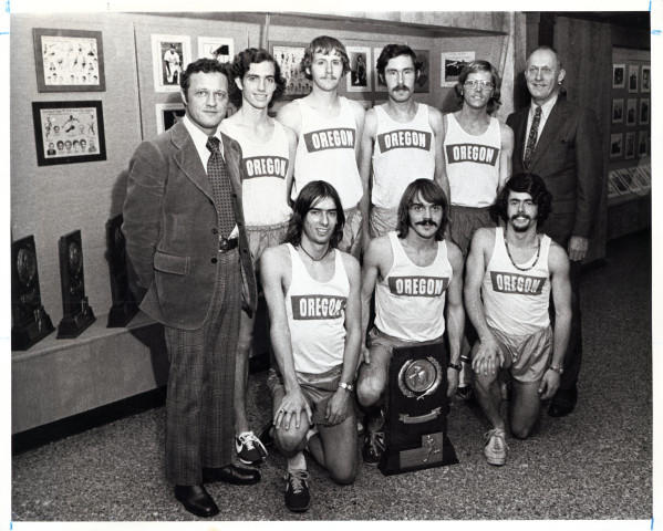 Bill Dellinger coached Steve Prefontiane at U of O