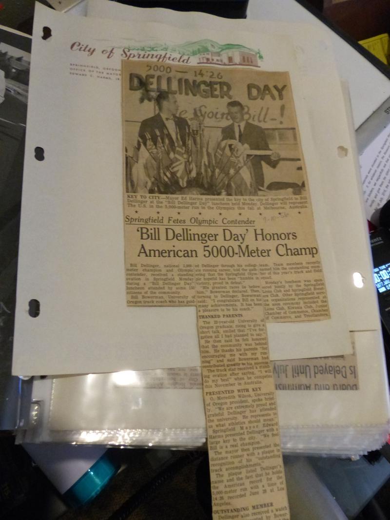 "Springfield Celebrated ""Bill Dellinger Days"""