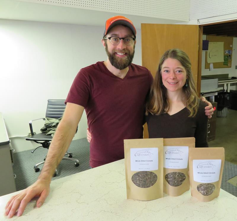 Austin Miller and Zoe Anton, of Craft Crickets
