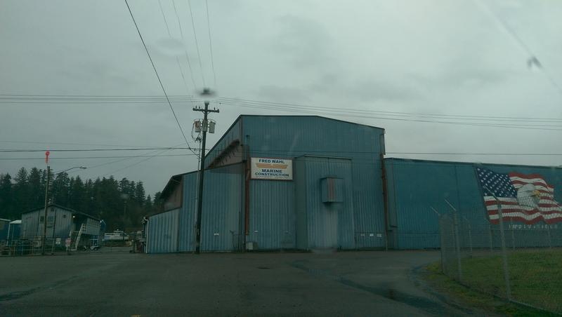 Fred Wahl Marine Construction in Reedsport.