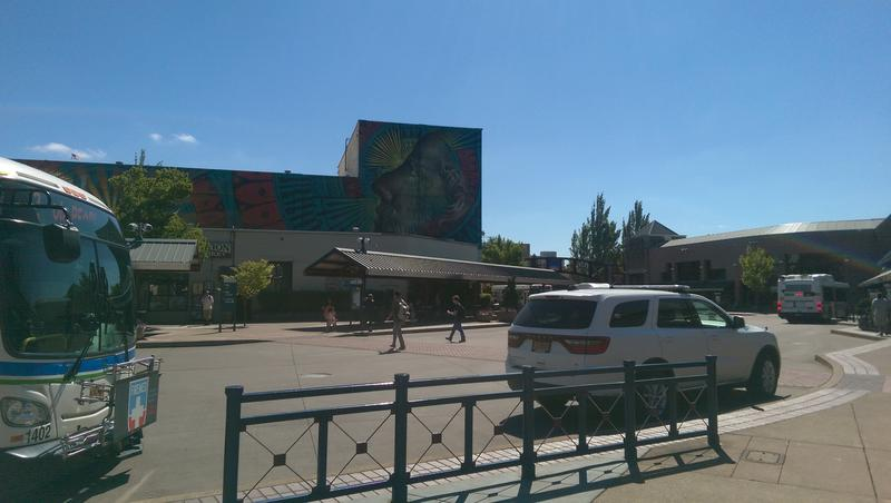 Beau Stanton's mural on the side of McDonald Theater