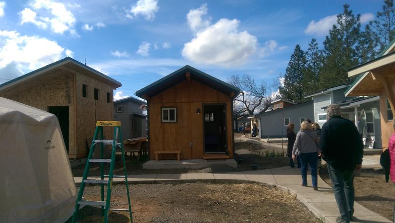 Emerald Village held an open house Friday.