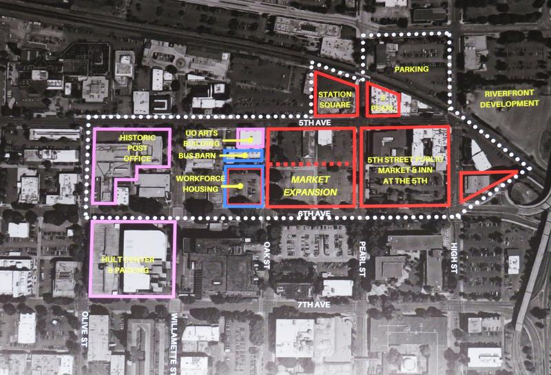 Overview map of planned expansion.