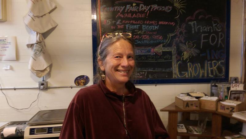 Ruby Matthews at Growers Market