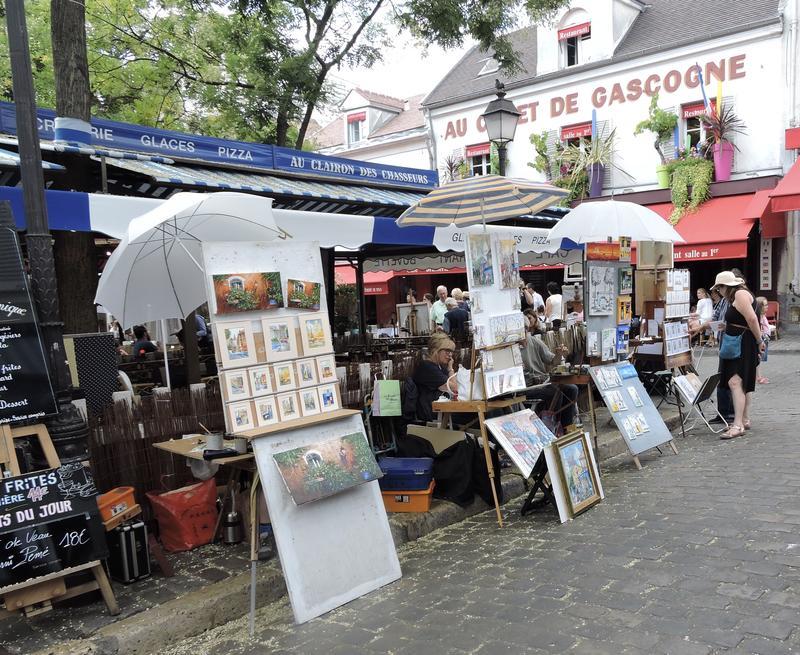 Montmartre art market