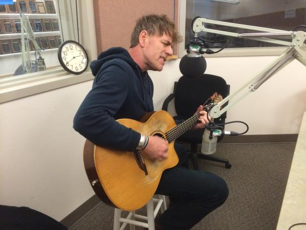 "Martyn Joseph performs a new song, ""Let Yourself Trust,"" named after his new nonprofit foundation of the same name."