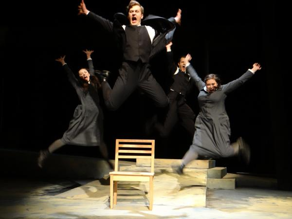 A scene from University Theatre's production of Spring Awakening