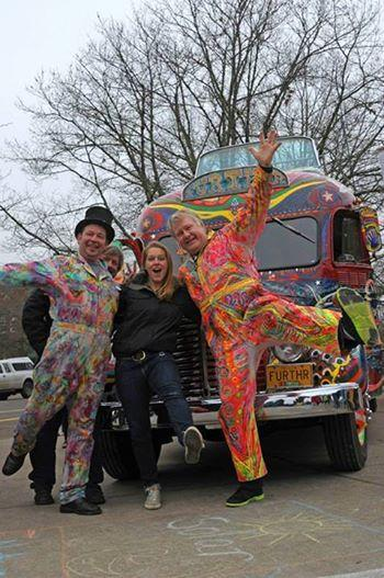 Zane Kesey and friends with Furthur.