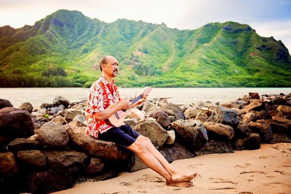 Elias Kauhane in Hawaii.