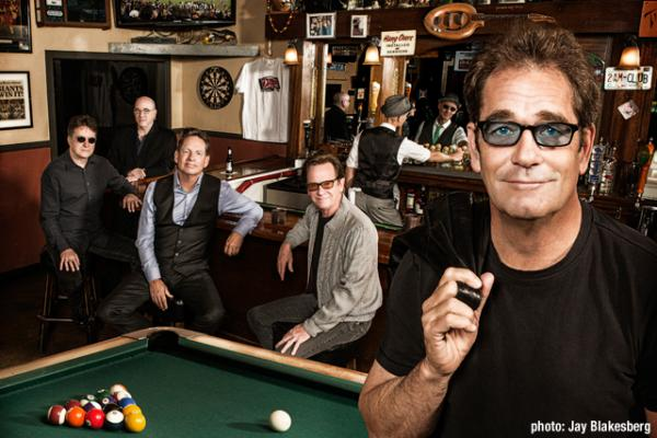 Huey Lewis and the News recreate their album cover for Sports, thirty years later.