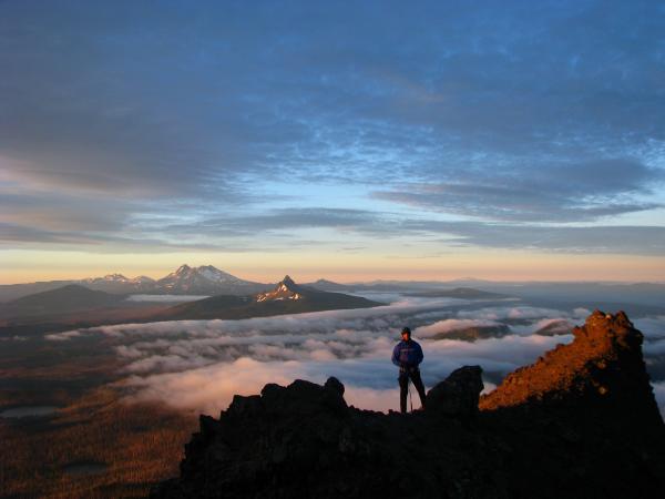 A view of Oregon's Mt. Jefferson Wilderness.