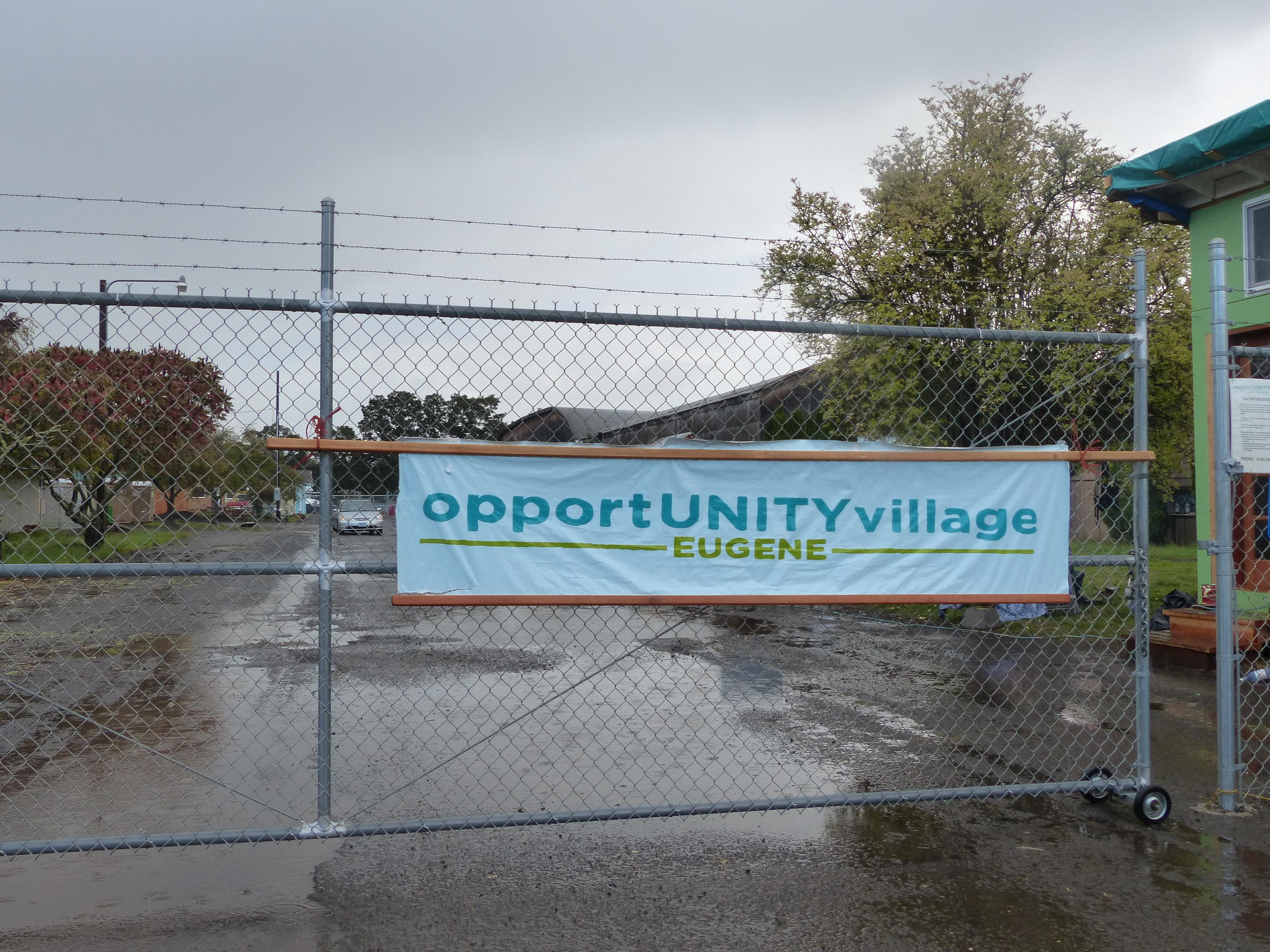 Opportunity Village: Eugene\'s Newest Gated Community | KLCC