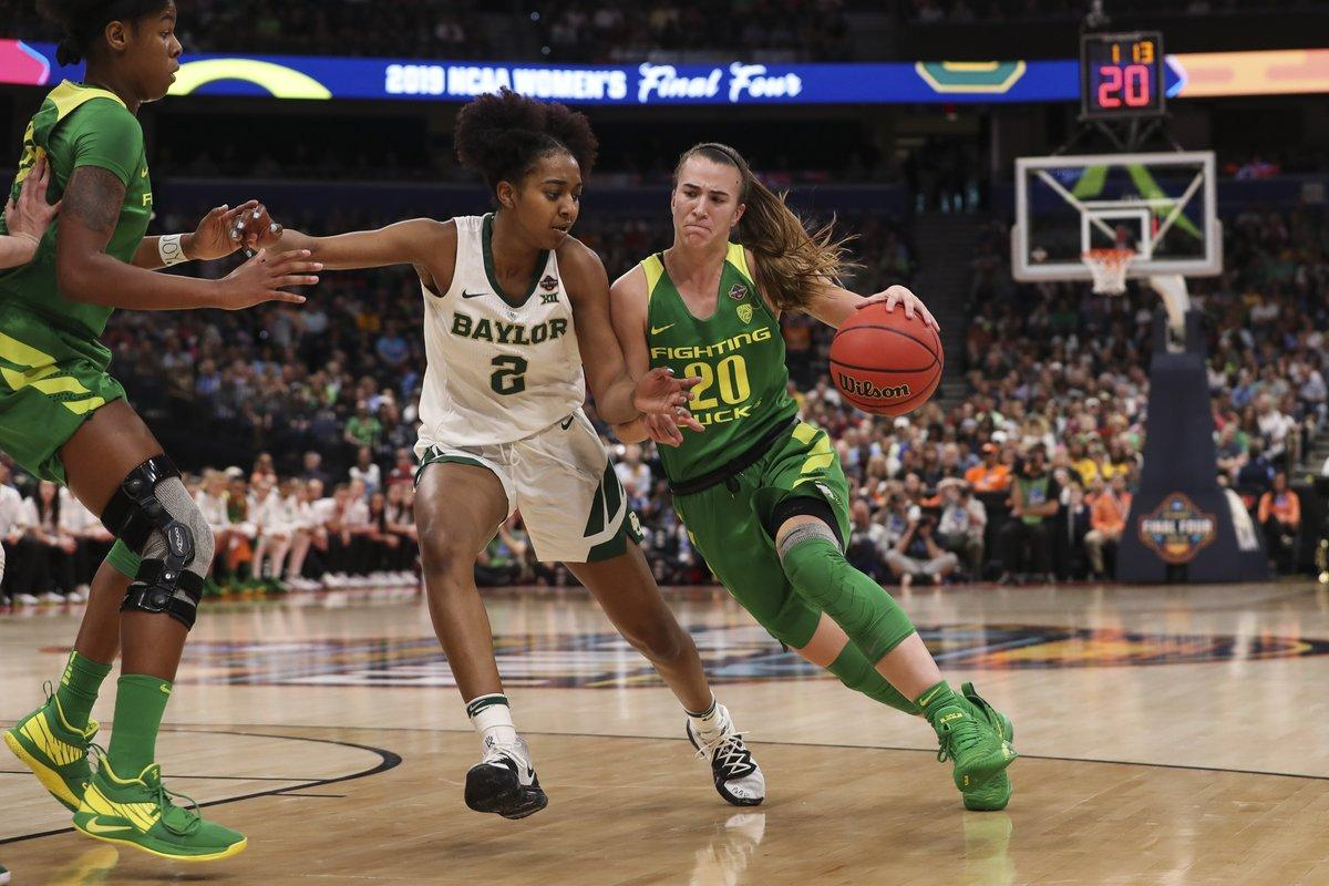 Brown, Cox lead Baylor over Oregon 72-67 into women's final