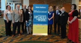 Wamego City Hospital CEO and staff members, attend Modern Healthcare's 2012 Best Places to Work awards ceremony in Nashville.