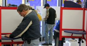 Voters in Douglas County cast ballots on election day.