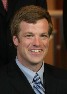 Topeka councilman Chad Manspeaker.