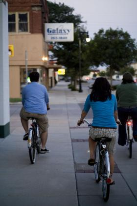 The Wichita Bicycle Master Plan would create a network of bike lanes and bike paths.