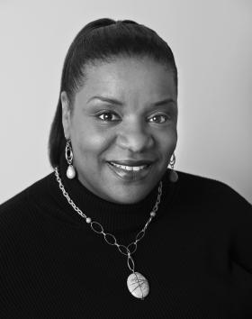 Gospel music executive, Carla Williams.
