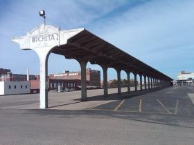 The former passenger boarding area at Wichita's Union Station.