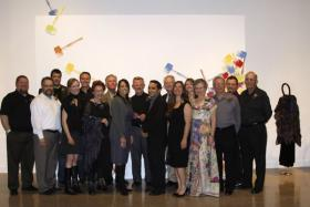 The artists of the 19th Ulrich Faculty Biennial