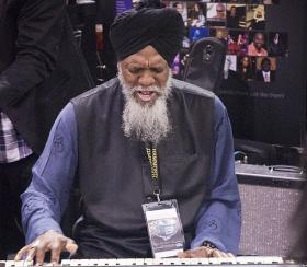 Jazz organist Dr. Lonnie Smith - one of the artists for Night Train's May B3 Month feature