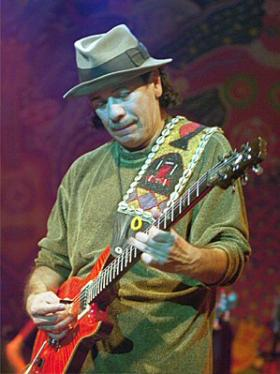 Throughout July, Global Village highlights music from Santana.
