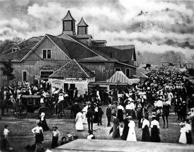 The Kansas State Fair in the early 1900s.