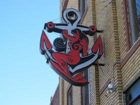 The Anchor is located at 1109 East Douglas, Wichita Kansas 67211