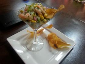 Ceviche at Taste and See