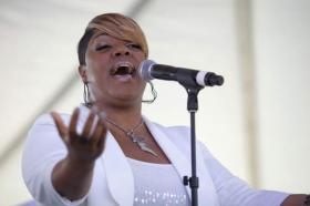 Ms. Anita Wilson is known for her dynamic brand of gospel vocals, described as a mixture of the Chicago Sound and Worship Soul