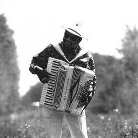 Nathan Williams of Nathan and the Zydeco Cha Chas.