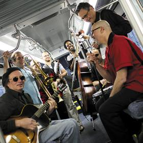 """Eight-piece """"big band"""" Blue Lunch marks 30 years together"""