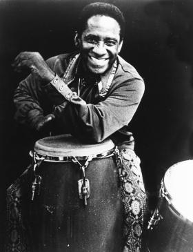 Afro-Cuban Latin jazz percussionist Mongo Santamaría among Monday's birthday tributes.