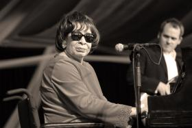 Thursday, we honor late jazz vocalist and pianist, Shirley Horn.