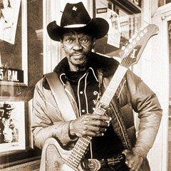 Born in Louisiana on April 18, 1924, the late blues great, Clarence 'Gatemouth' Brown.