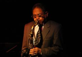 Frank Wess at Vancouver's Jazz Cellar, 2005