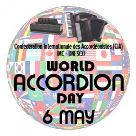 Night Train celebrated World Accordion Day Tuesday along with Global Village and Strange Currency.