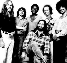 Little Feat, pictured here in 1973, tops Crossroads' April Top 40.