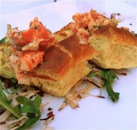 Newport Grill lobster roll