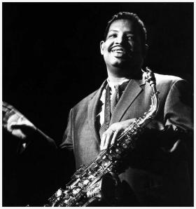 Alto saxophonist Cannonball Adderley