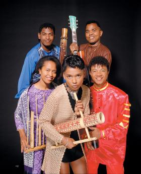 Music group Tarika of Madagascar