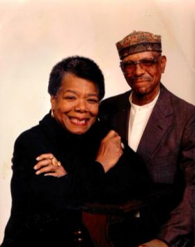 Famed Poet Maya Angelou and long time friend Dr. George Rogers, Former Chair of WSU Minority Studies.