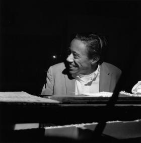 Legendary jazz pianist and composer Horace Silver