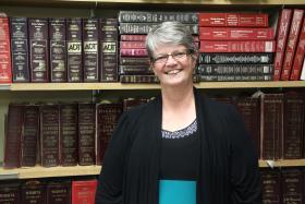Kathy Sikes, chairwoman of the Tobacco Free Wichita Coalition