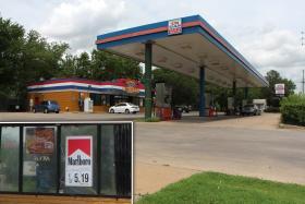 Noori Gas Station in Southeast Wichita